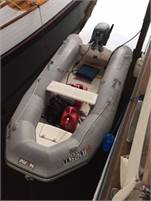 Inflatable Boat (RIB) with Trailer and 15 HP Yamaha Outboard Motor